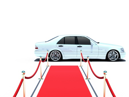 car and red carpet