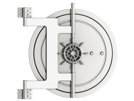safety deposit box: safe Stock Photo