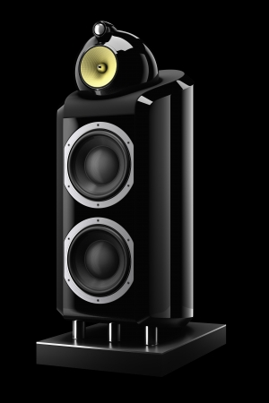 3d speaker isolated