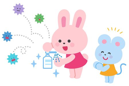 Goodbye to the virus,