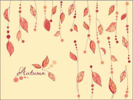 autumn park: Autumn Leaves Background