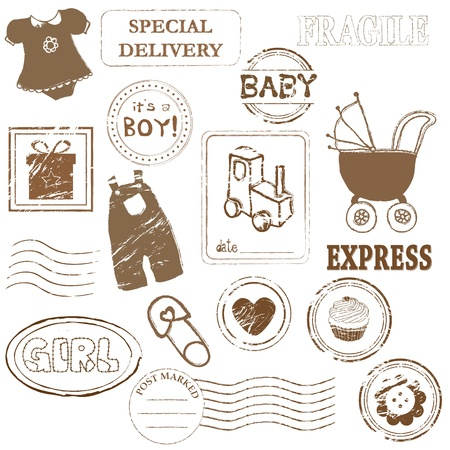 stamp collection: Baby stamp collection
