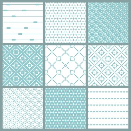 Fondos transparentes colecci�n - azulejos Vintage