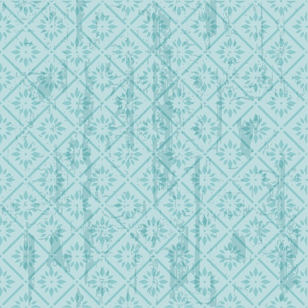 Seamless Vintage Tile background  - in vector Vector