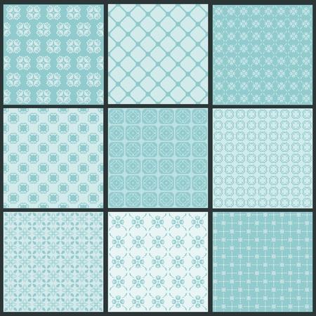 papel scrapbook: Fondos de la colecci�n perfecta - Azulejos Vintage
