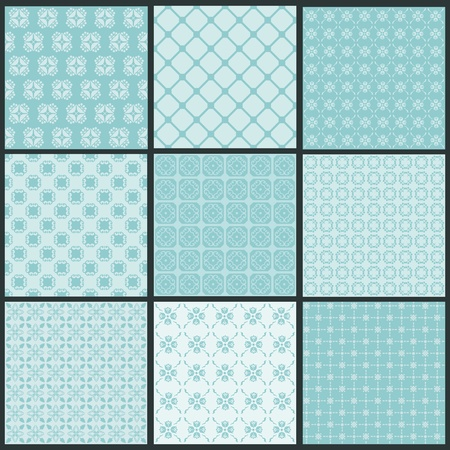 scrapbook: Seamless backgrounds Collection - Vintage Tile