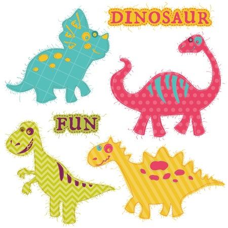 Scrapbook Design Elements - Dinosaur Set