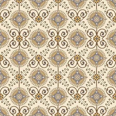 scrapbook cover: Seamless Vintage Background - for wedding design, scrapbook, cover