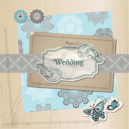 car garden: Scrapbook Design Elements - Vintage Lace Butterflies