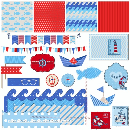 Scrapbook Design Elements Stock Vector - 18966026
