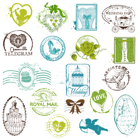 Rubber Stamp Collection Vintage