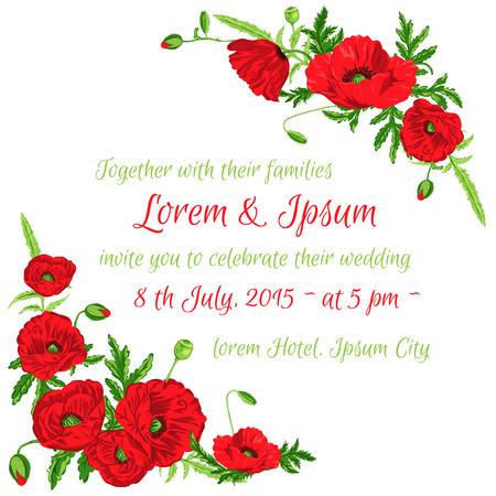 Hochzeit Vintage-Einladung Karten