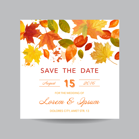 beautiful background: Invitation or Greeting Card Set - for Wedding, Baby Shower - in vector Illustration