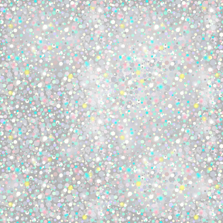 silver texture: Silver Glitter Background - seamless texture - in vector