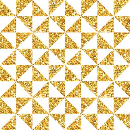 geometria: Fondo de oro del brillo Geometría - sin patrón - en el vector