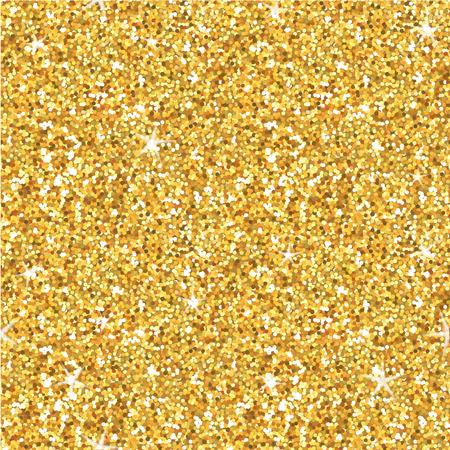 Golden Glitter Hintergrund - nahtlose Muster - in Vektor