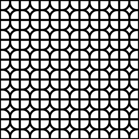 monochrome: Seamless Background Monochrome Tile - for Design and Scrapbook - in vector