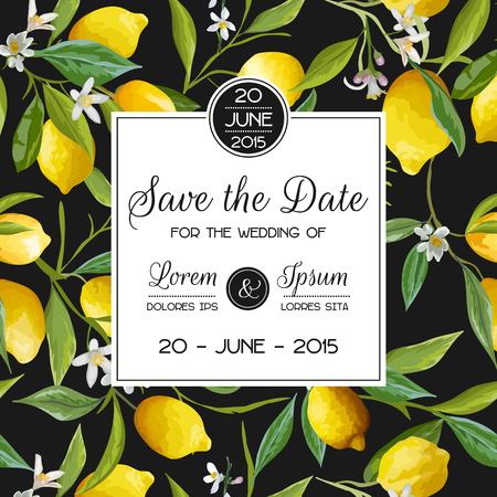 Invitation/Congratulation Card Set - for Wedding, Baby Shower - in vector Illustration