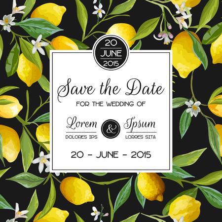 Uitnodiging  Gelukwens Set - voor Wedding, Baby Shower - in vector Stock Illustratie