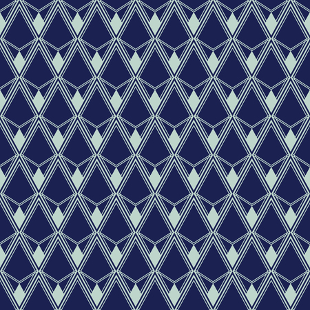 Art Deco Seamless Pattern, Geometrical Background for design, cover, textile, wallpaper, decoration in vector 일러스트