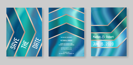 Wedding geometric geode or marble template, artistic covers design, colorful texture, realistic backgrounds. Trendy pattern, geometry brochure, save the date cards, graphic poster. Vector illustration. 일러스트