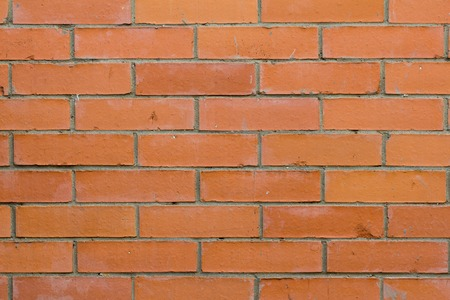Old vintage red bricks wall horizontal background