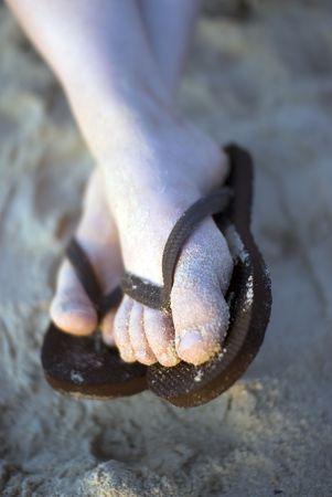 flipflops: flip-flops Stock Photo