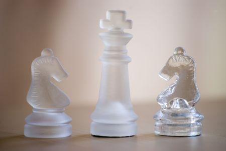 glass chess set Stock Photo - 2912249