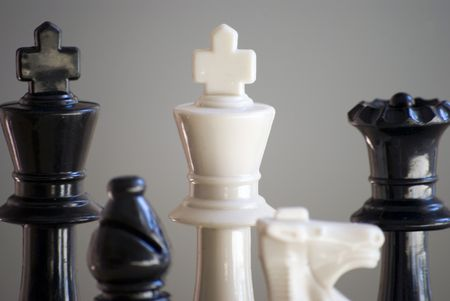 chess set close up Stock Photo - 2900906