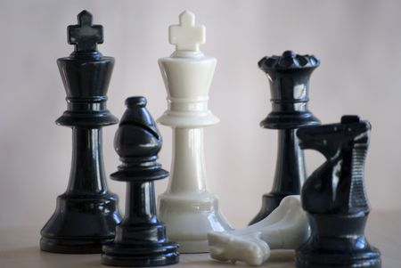 chess set Stock Photo - 2900903