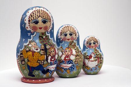 babushka: babushka dolls Stock Photo