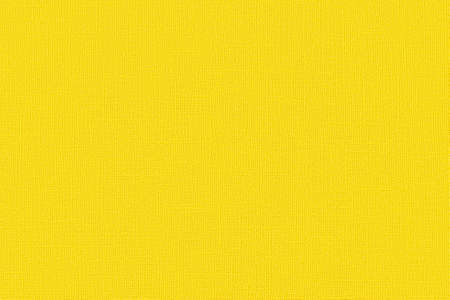 Color of the year 2021 illuminating yellow. Linen texture of illuminating colored paper for pastels and watercolors. Modern trendy background for text message, mock up, art work design. Top view.