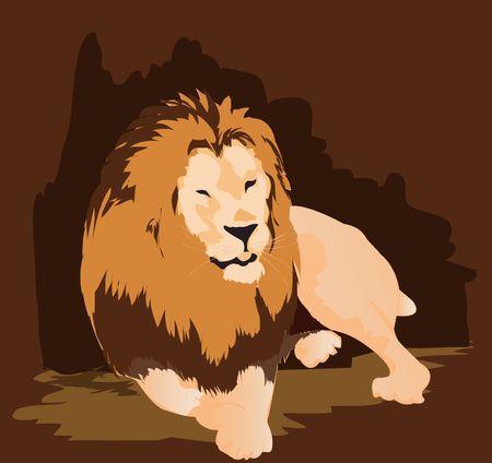 Lion, Stock Vector - 1372871