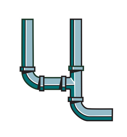 Water Pipe with joints