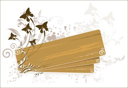 Butterflies flying Stock Vector - 1675010
