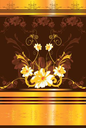 Floral daigne d'un canap�