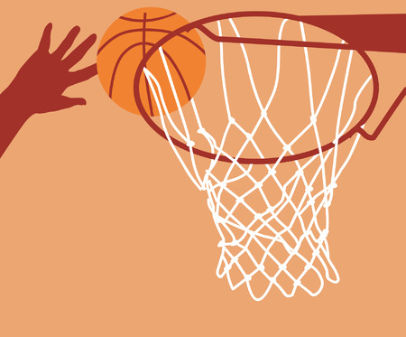 soaring: Basket ting ball