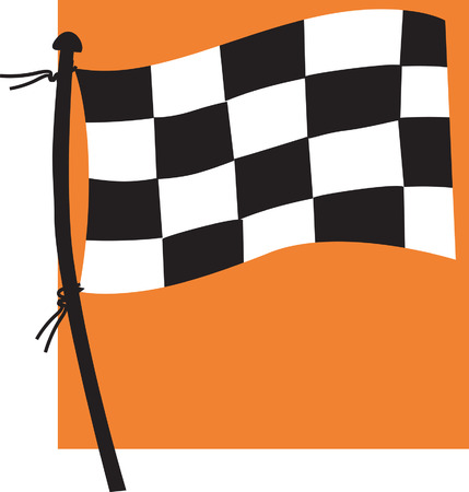 sports flag: Deportes bandera  Vectores