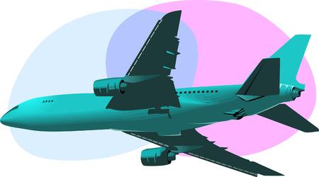 aviations: Airbus Illustration