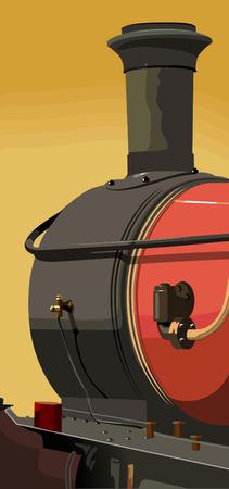 smoke stack: Di gas di scarico pip  Vettoriali