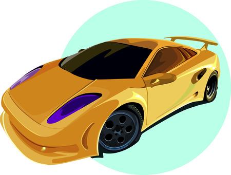motorised: Luxury car