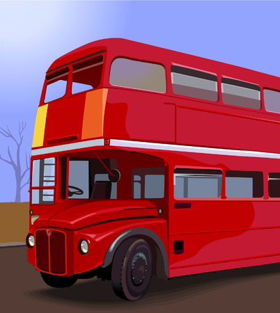 decker: Double Decker Bus, Illustration