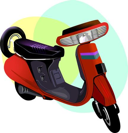 motorised: Push Scooter,