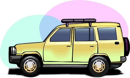 prestige: Mode of Transport Illustration