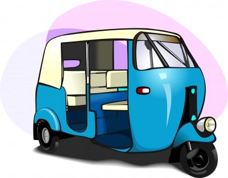 motorised: Auto Rickshaw,