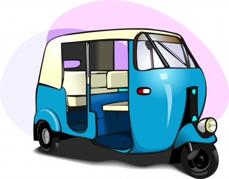 traditionally: Auto Rickshaw,