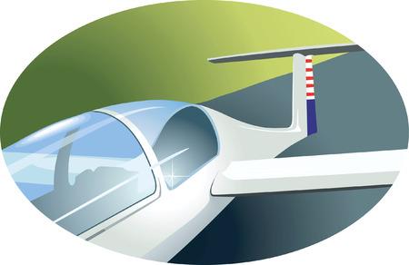 aviations: Tail of a Aeroplane,