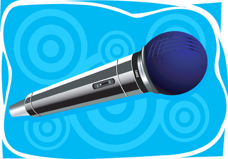 narrate: Wireless microphone Illustration