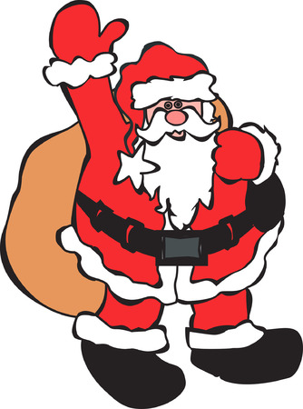saint nicholas: Santa Claus Illustration