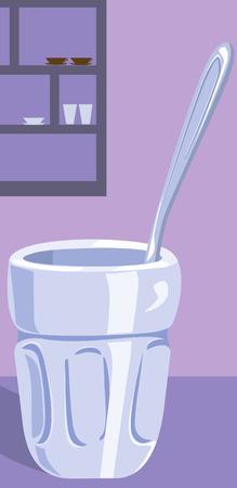 indulgência: preparing Medicine in the glass